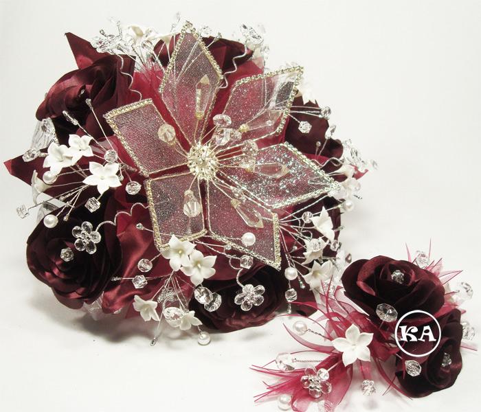 a-0023 burgundy-silver